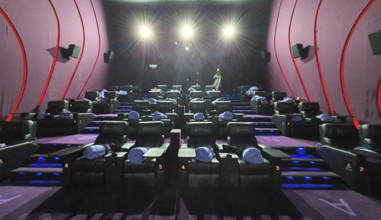 Kuala Lumpur - TGV VIP cinema - Malaysia - Chatty Bear - Canadian Food & Travel Blog