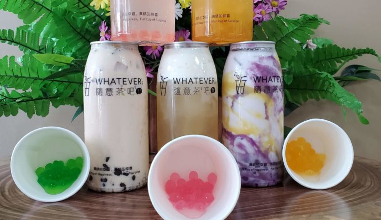 whatever tea, burnaby, vancouver, bubble tea in vancouver - bubble tea in burnaby