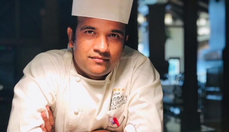 Executive Chef Sandeep Supkar - Chatty Bear