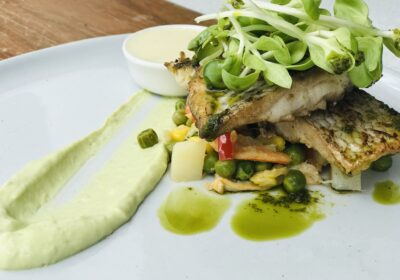 Pan-seared Snapper by Chef Sandeep Supkar - Chatty Bear Recipe