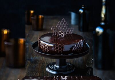 Milk chocolate mousse with crunchy base By Chef Kirsten Tibballs - Chatty Bear