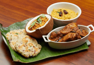 Chef Dhayanie (Dee) Williams Recipe - Chicken Curry with Daal, Coconut Sambal and Coconut Roti