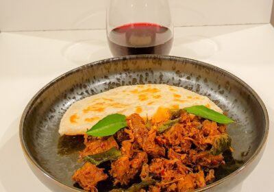 Kerala Beef Fry by chef Dee Williams