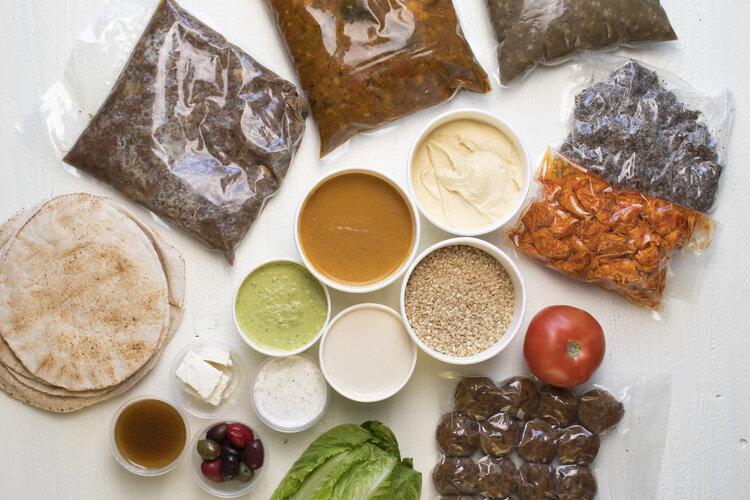 Nuba Home Meal Kit - Vancouver home food kit