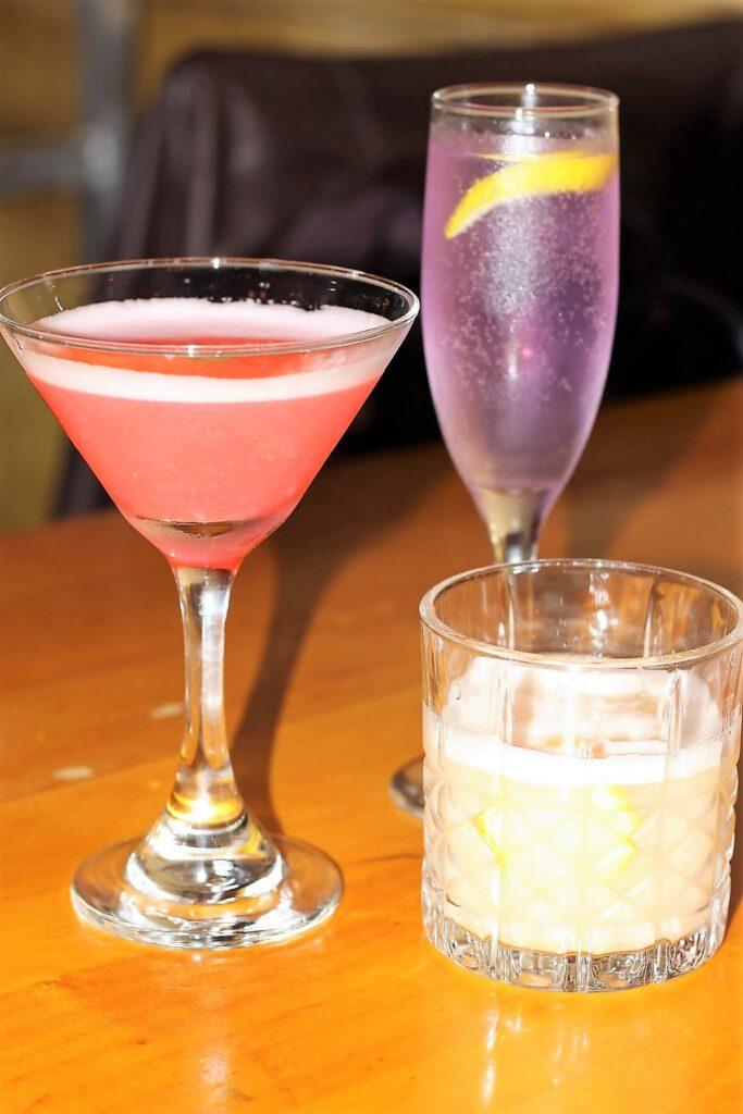 Lavanda , Whiskey Sour , Clover Club. The Whiskey Sour - Marcello's Ristorante & Pizzeria
