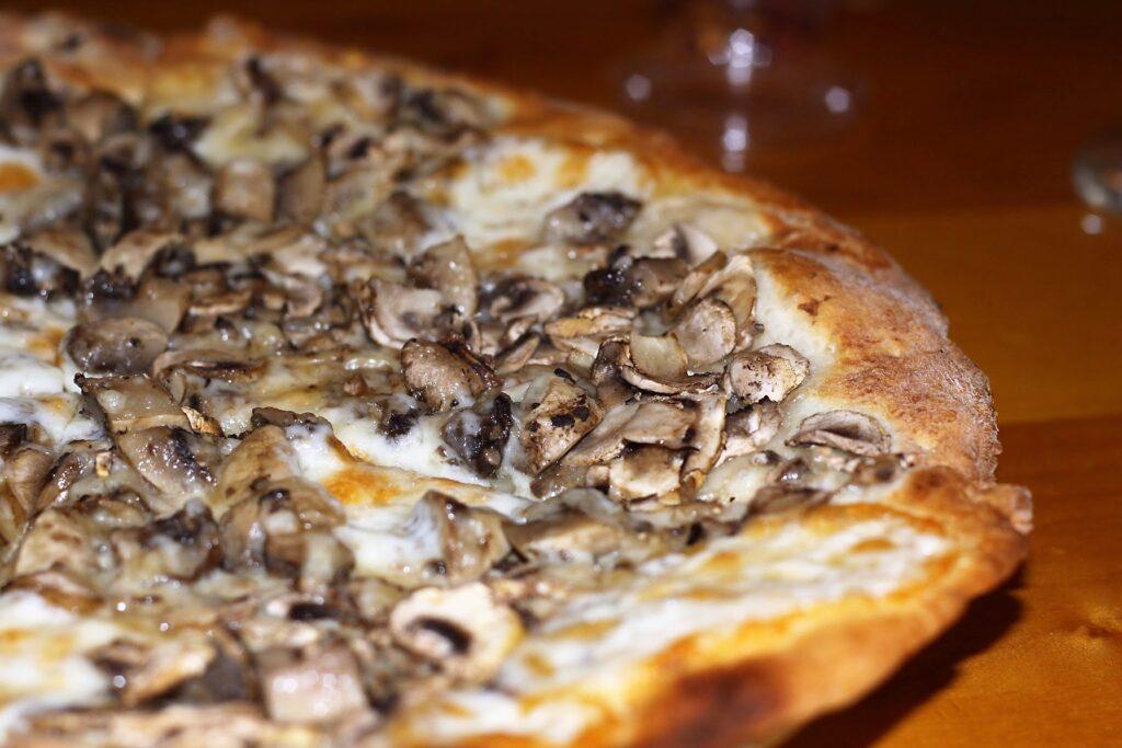 Funghi Con Tartufo Pizza (a cheese blend with mushrooms and truffles) - Marcello's Ristorante & Pizzeria