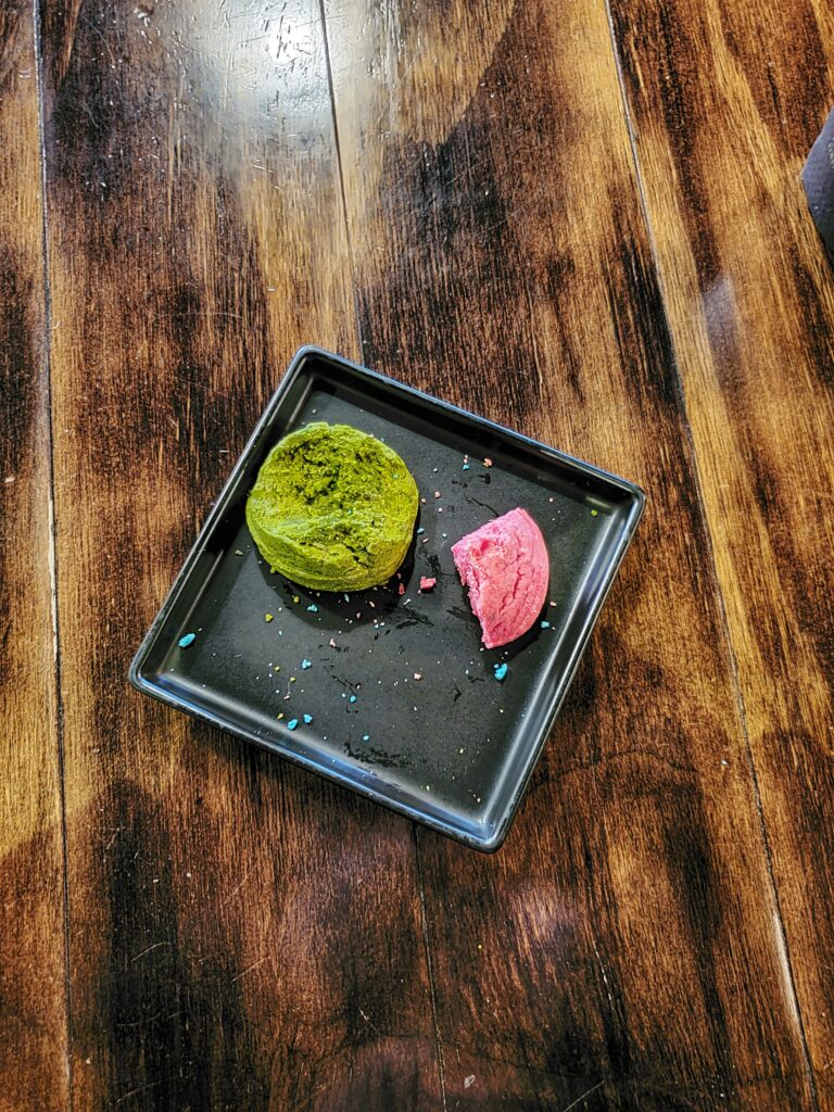 Canadian magazine - Burnaby Coffee shop review - matcha cookies