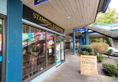 standing egg coffee Burnaby, Canada - Canadian Food Magazine