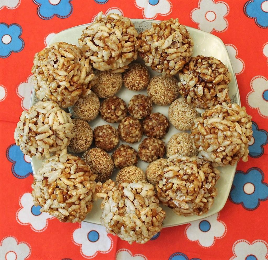 Tilwa - Lohri food - Makar Sakranti food