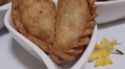 Gujiya - Ghughra - Karanji - homemade recipe
